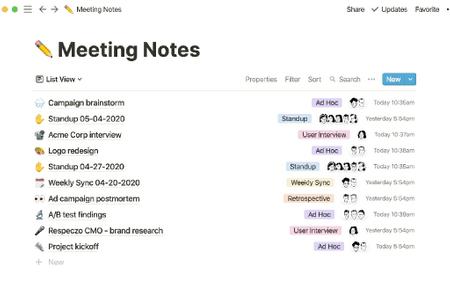 Quản lý công việc và note-taking với Notion