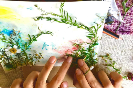 Vẽ và hành trình kết nối khám phá bản thân
