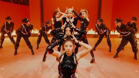 Learn K-Pop chorus choreography with INE