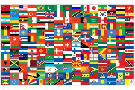 Cùng mình tìm hiểu về các lá cờ trên thế giới
