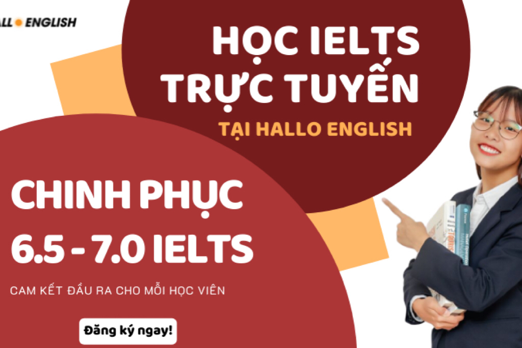 Hallo English - Luyện thi Ielts mùa dịch
